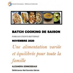 BATCH COOKING DE SAISON